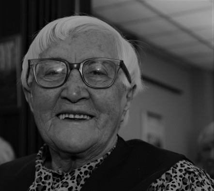Rosemary Capshaw 1902-1995 (Photo Circa 1987)